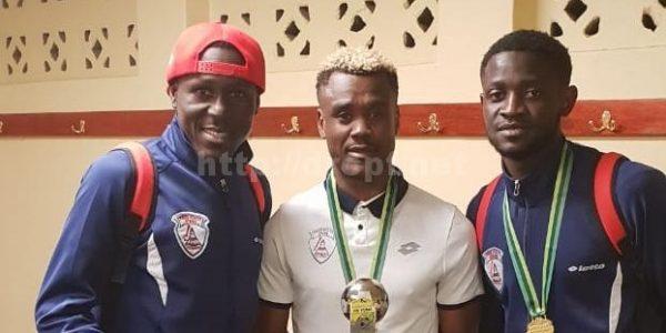 Nedbank Cup : Cesair Gandzé et Harris Tchilimbou remportent la Coupe avec Free States Stars